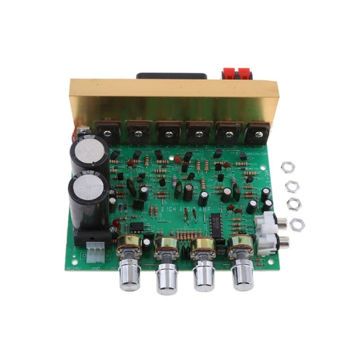 Amplifier PCB manufacturing and assembly